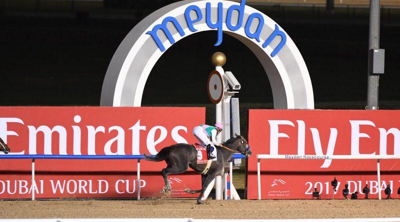 ¡Impresionante!: ARROGATE SE SUPERÓ A SÍ MISMO EN LA DUBAI WORLD CUP (G1)