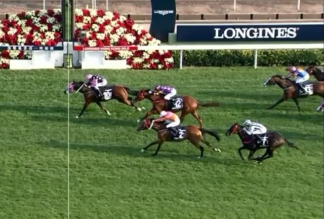 Con Dominio Total: BEAUTY GENERATION LIDERO SIEMPRE EN LA HONG KONG MILE (G1)