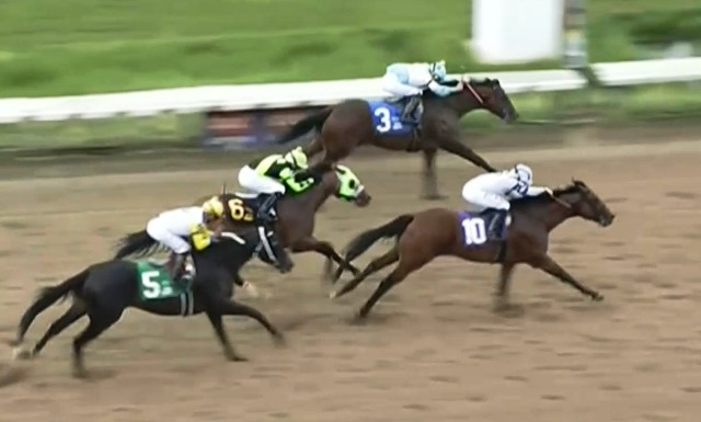 Otro Quality Road: CORE BELIEFS DOMINÓ AL FINAL EN EL OHIO DERBY (G3)