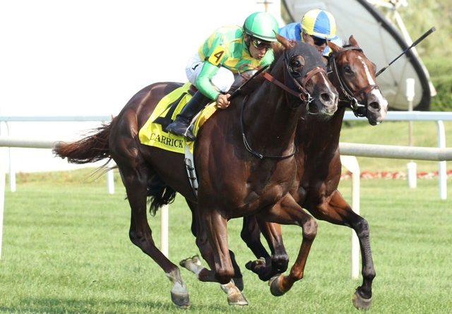 Inesperado triunfo: CARRICK SOMETIÓ A ANALYZE IT EN EL SECRETARIAT S. (G1)