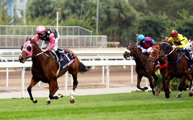 Imbatible en la milla: BEAUTY GENERATION REPITIÓ EN LA HONG KONG MILE (G1)