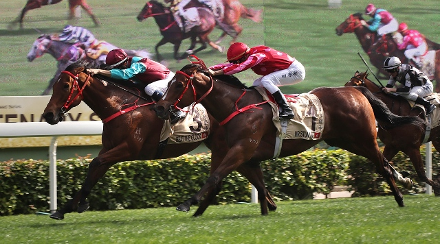 HONG KONG: Beat The Clock sacó la clase en la Centenary Sprint Cup (G1)
