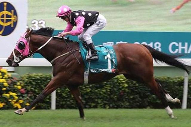 HONG KONG: BEAUTY GENERATION fue implacable en la Queen's Silver Jubilee Cup (G1)