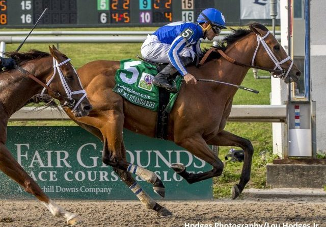 RUTA AL KENTUCKY DERBY (G1): By My Standards sorprendió en el Louisiana Derby (G2)
