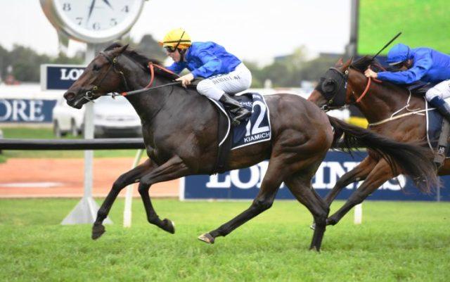 AUSTRALIA: Godolphin copó los 3 primeros en el Golden Slipper (G1)