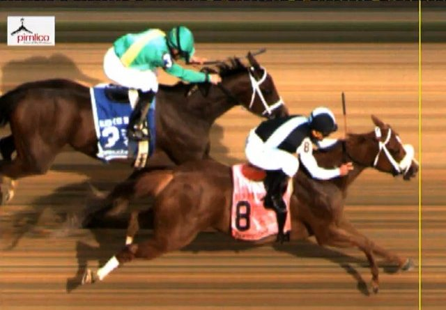 EUA: La alazana POINT OF HONOR volvió a lo suyo en el Black-Eyed Susan S. (G2)