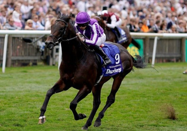 INGLATERRA: TEN SOVEREIGNS se sobró en el July Cup S. (G1)