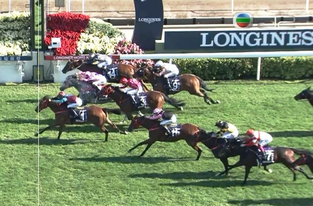 SHA TIN (Hong Kong): ¡En gran final! BEAT THE CLOCK se quedó con el Hong Kong Sprint (G1)
