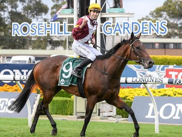 ROSEHILL GARDENS (Australia): ¡De punta a punta! SHOUT THE BAR sorprendió en el Vinery Stud S. (G1)