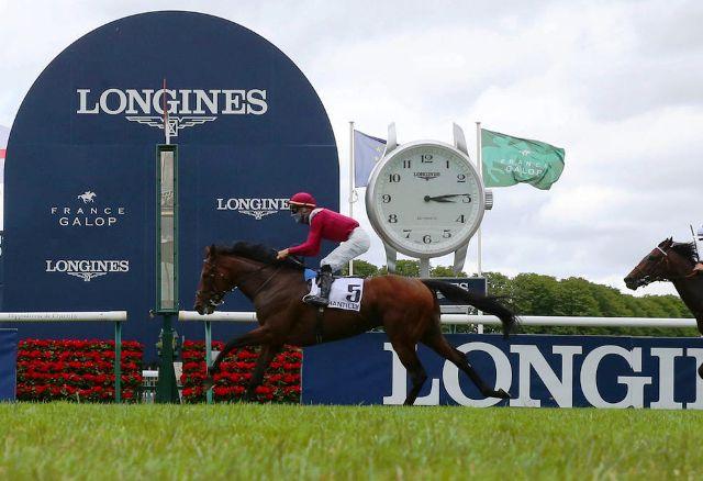 CHANTILLY (Francia): ¡Con Suma Facilidad! MISHRIFF le dio a JOHN GOSDEN el triunfo en el Prix du Jockey Club (G1)