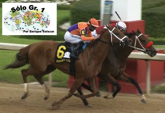 OAKLAWN PARK (EUA): ¡Con IRAD ORTIZ Jr. en sus estribos! LETRUSKA superó a MONOMOY GIRL en el APPLE BLOSSOM H. (G1)