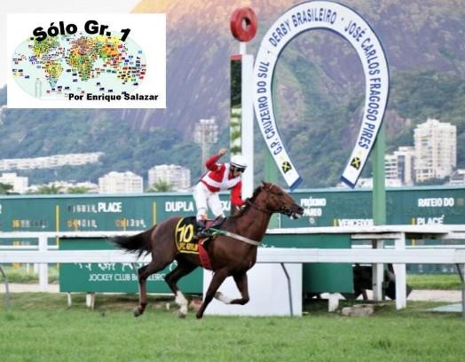 GAVEA (Brasil): ¡Otro AGNES GOLD! El potro OLYMPIC KREMLIN lideró una trifecta para el entrenador LUIZ ESTEVES en el GRANDE PREMIO CRUZEIRO DO SUL (G1)